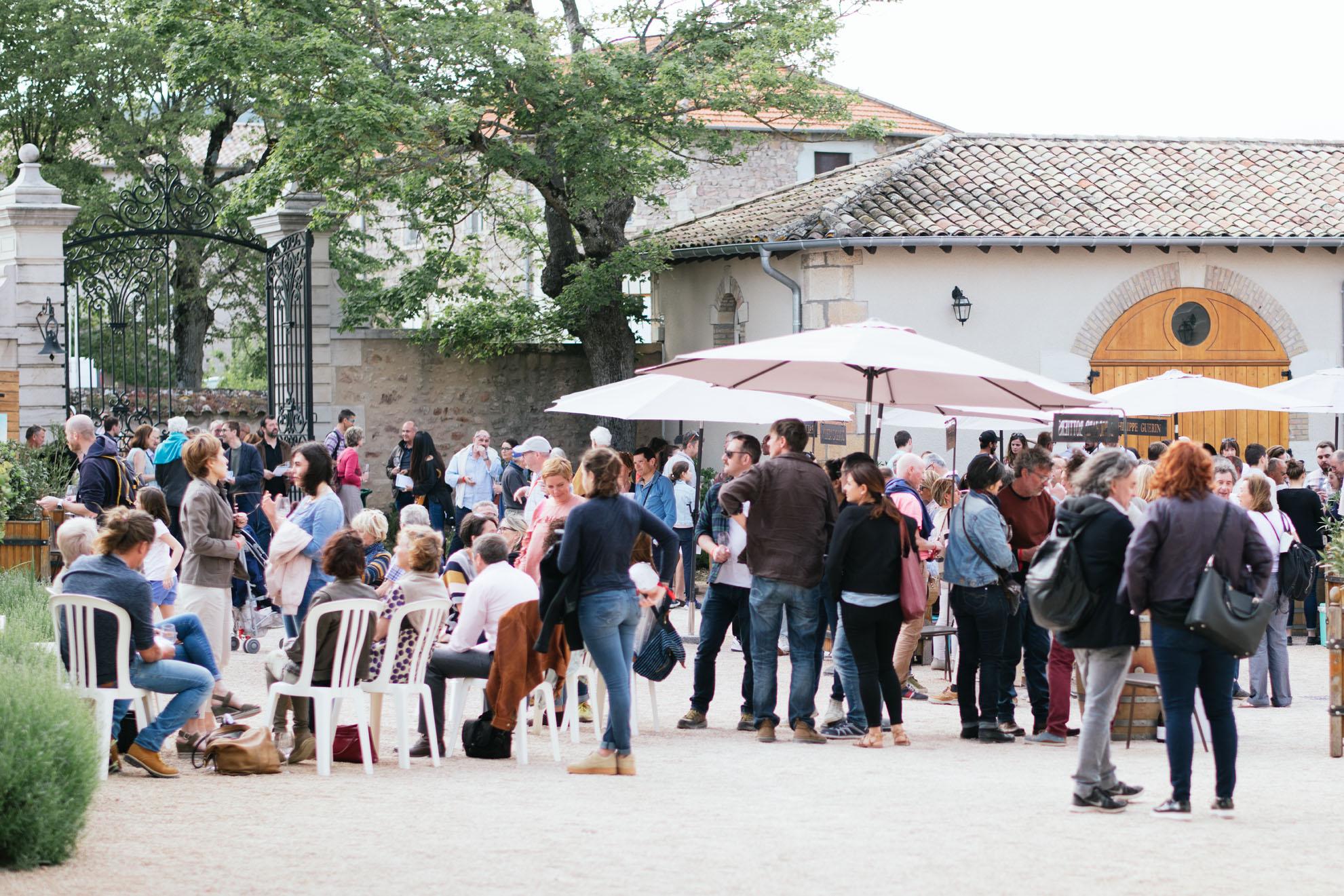 Dégustation des vins de Moulin-à-Vent pour Jazz in Moulin-à-Vent
